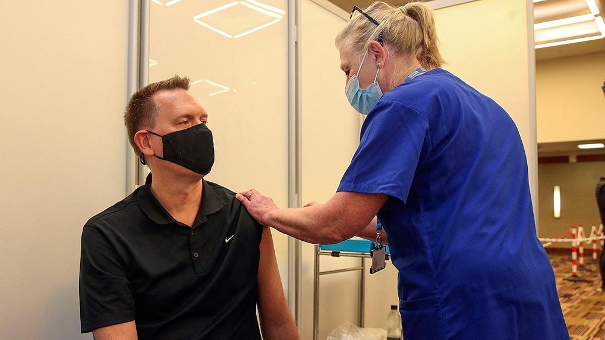 Vacunación en Reino Unido