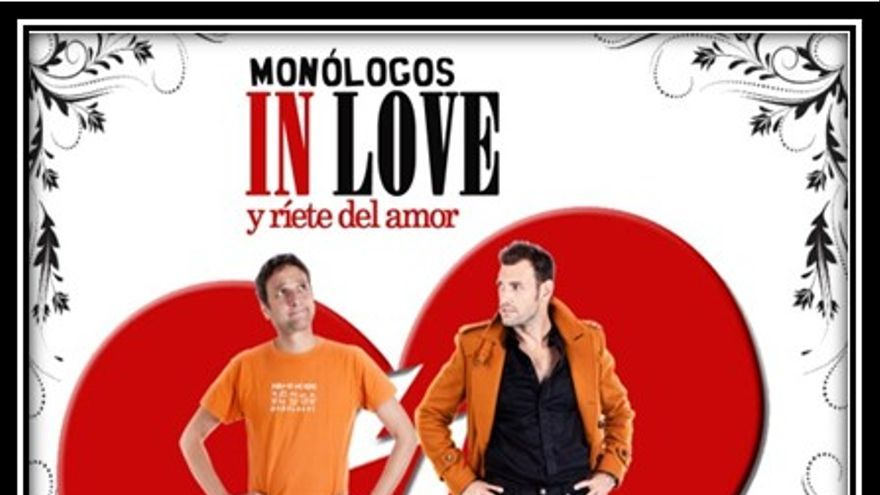 Cartel Monólogos in love