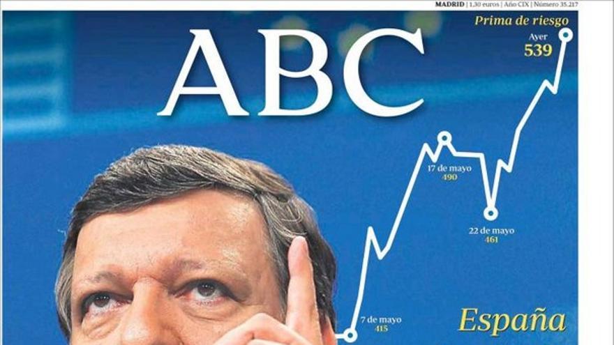 De las portadas del día (31/05/2012) #6