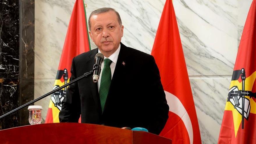 Erdogan: Turquía no debería avanzar más allá de Al Bab en el norte de Siria