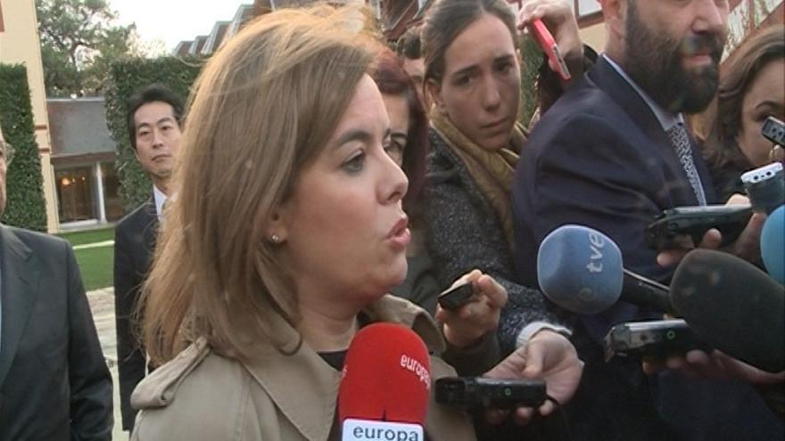 """Santamaría dice que """"hay que escuchar"""" a los ciudadanos pero también hacer reformas para recuperar su confianza"""