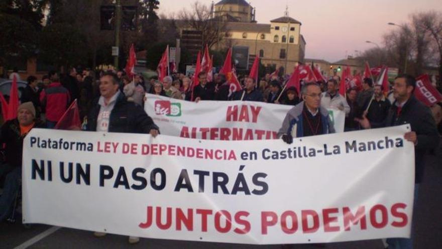 Manifestación Plataforma en Defensa de la Ley de Dependencia