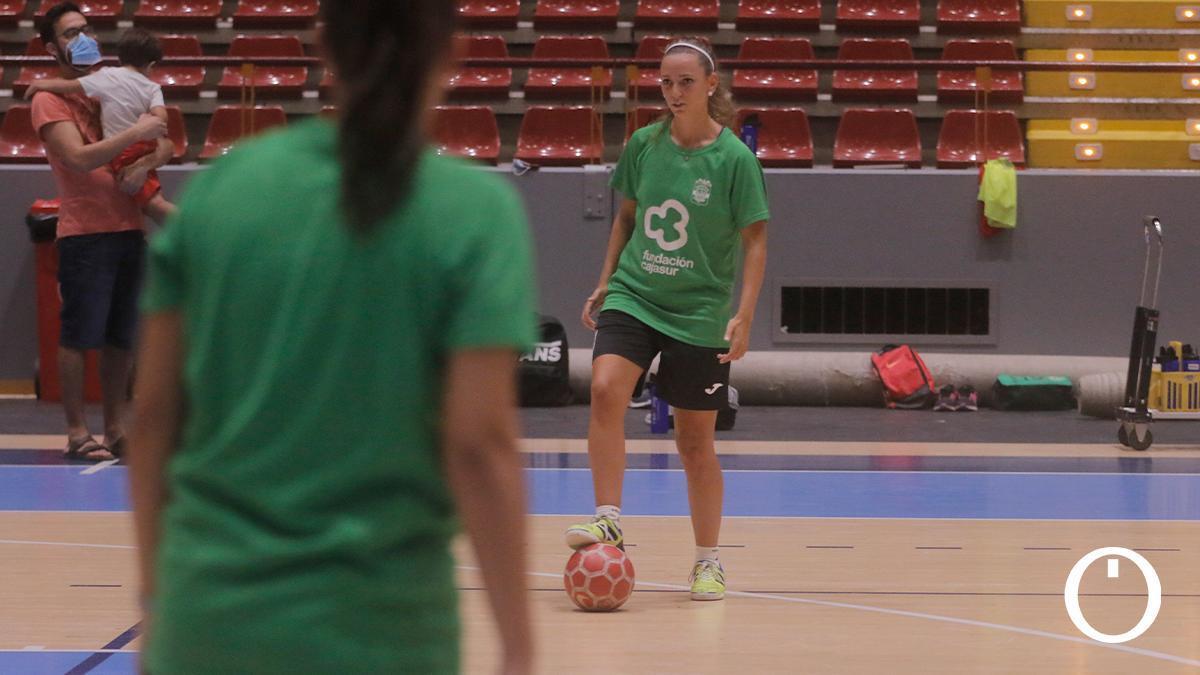 Entrenamiento del Deportivo Córdoba