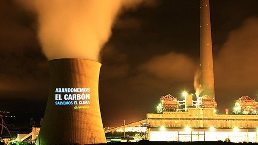 Abandonemos el carbón ©Greenpeace