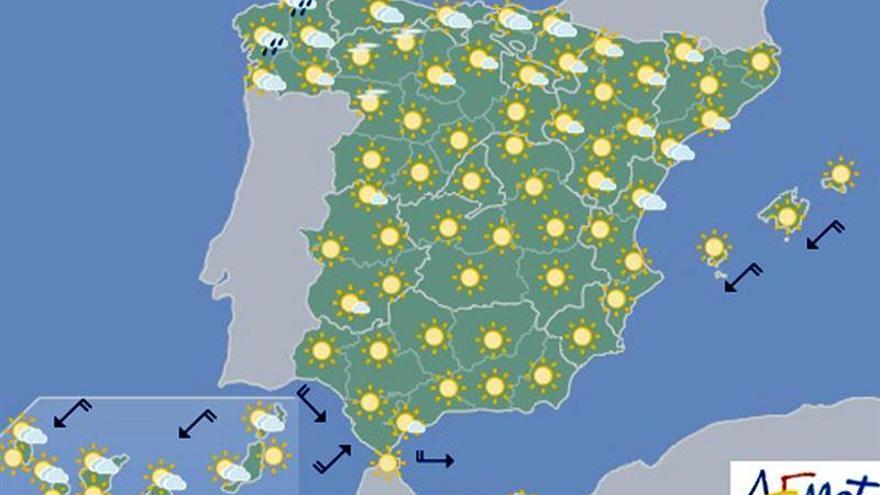 Hoy, fuertes tormentas en zonas del Ebro, sistema Ibérico y Pirineos