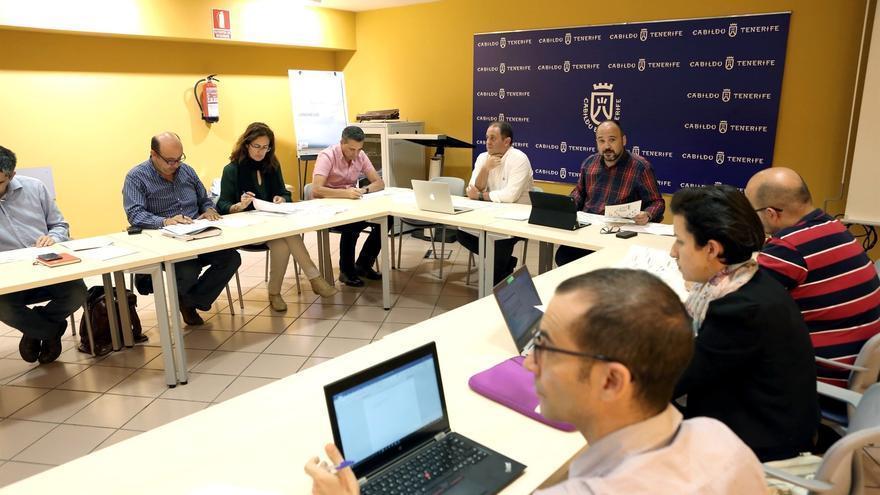 Imagen de la última reunión convocada por la comisión de seguimiento