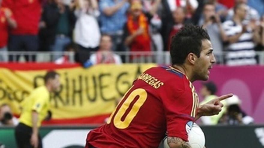 Cesc Fabregas Selección Española