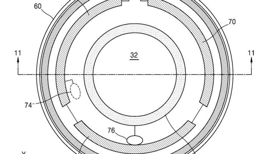 Prototipo de las lentillas de Samsung
