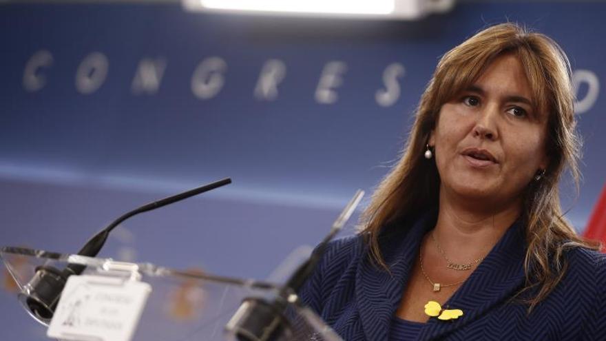 La portavoz de Junts per Catalunya Laura Borràs, en el Congreso de los Diputados.