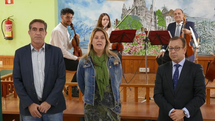 Presentación de la actividad en el municipio de Arucas