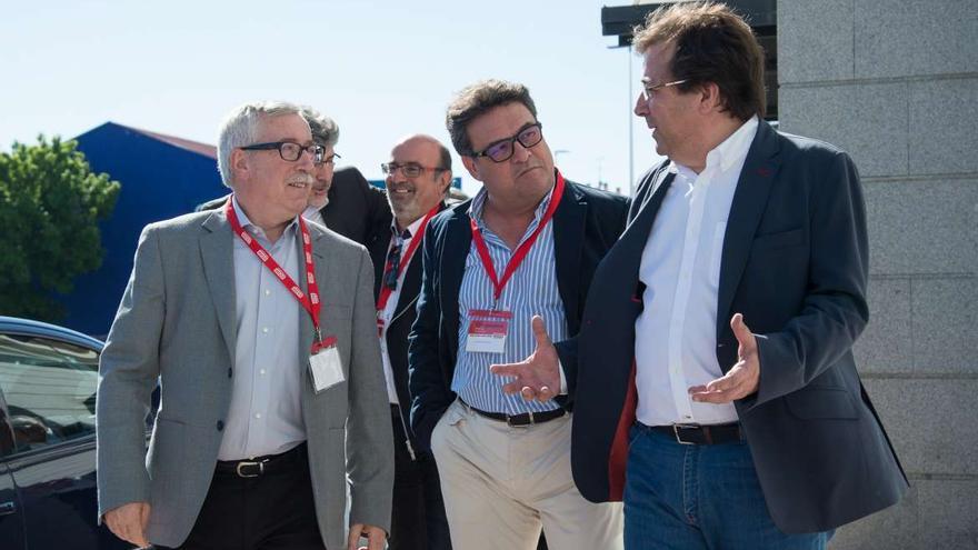 Vara Toxo Carretero CCOO Extremadura congreso Merida