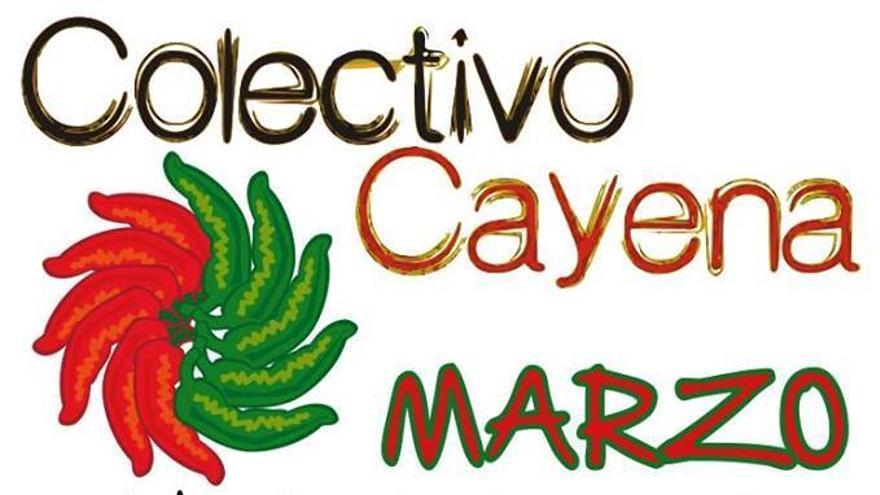 Cartel de las Jornadas de Comunicación de La Cayena