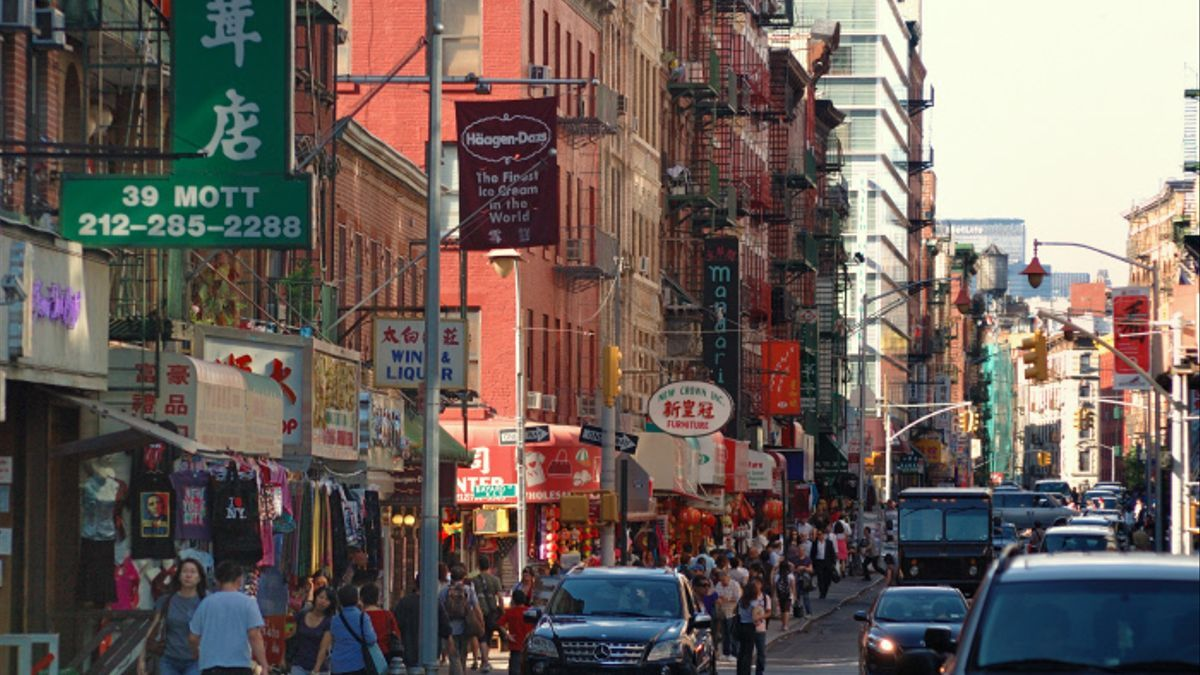 Chinatown, Nueva York.