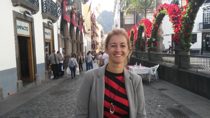 Virginia Espinosa, concejal de Fiestas de Santa Cruz de La Palma.