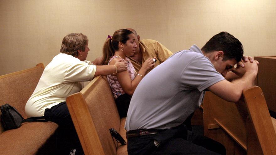 La familia de Pablo Ibar, condenado a muerte en EEUU, espera la respuesta de los tribunales sobre la concesión de un nuevo juicio. / Efe.