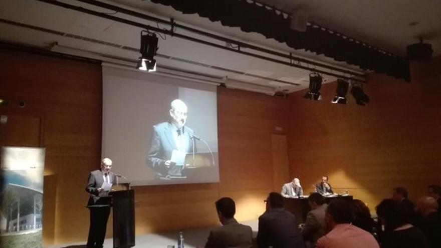 Joan Calabuig, en las jornadas organizadas por la Fundación Turismo Valencia en el Palacio de Congresos