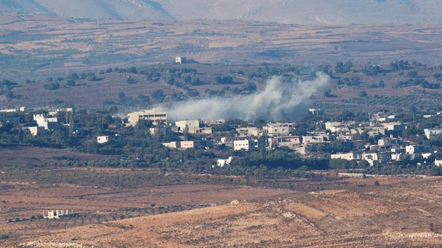 Israel ataca posiciones sirias tras caer un proyectil en los Altos del Golán