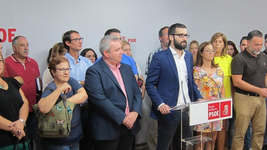 Lucas supera el máximo de avales requeridos para ser candidato a la Secretaría General del PSOE murciano