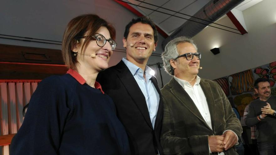 """Rivera afirma que """"cada voto al PSN va a ser a Barkos"""" y cree que Sánchez """"entregará Navarra al nacionalismo"""""""