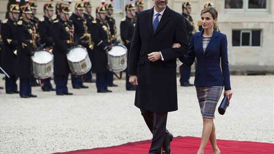 Los Reyes de España visitarán Francia a comienzos de junio en viaje oficial