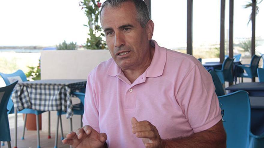 Mario Cabrera, expresidente del Cabildo de Fuerteventura. (FELIPE DE LA CRUZ)