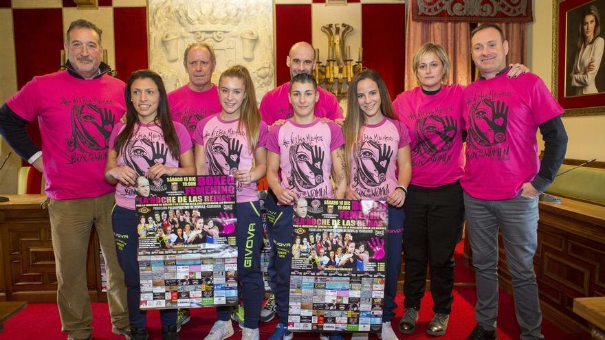 Camargo acogerá una velada de boxeo protagonizada por mujeres para reivindicar la igualdad de género