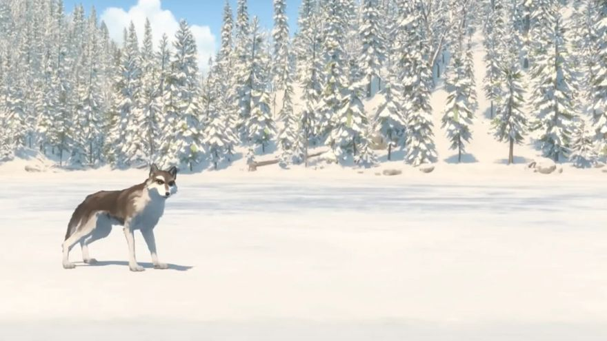 Imagen de la serie 'White Fang' emitida por Netflix en 2018