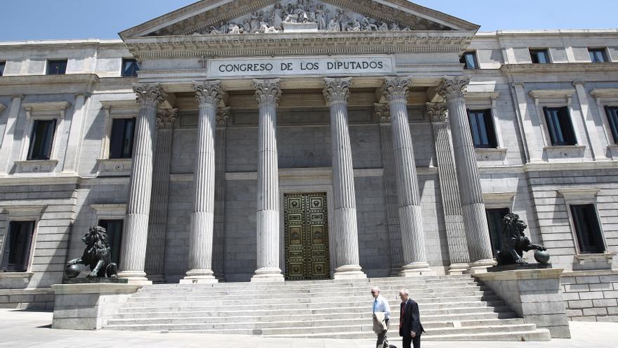 Fachada del Congreso de los Diputados.