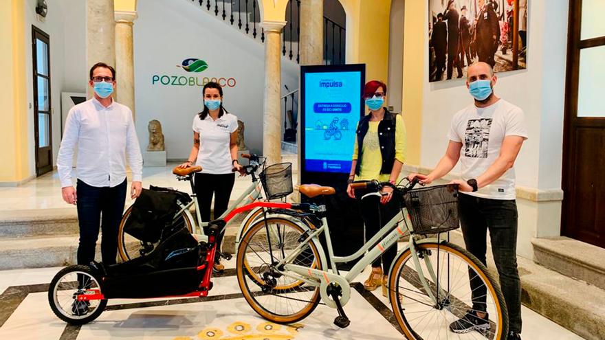 Servicio de transporte de la compra a domicilio en Pozoblanco.
