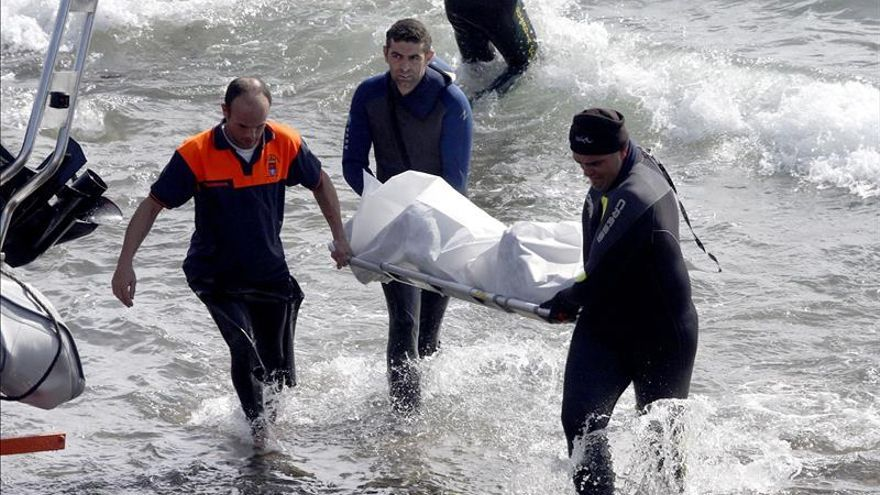 Once subsaharianos muertos en una patera que naufragó en las costas del Sahara