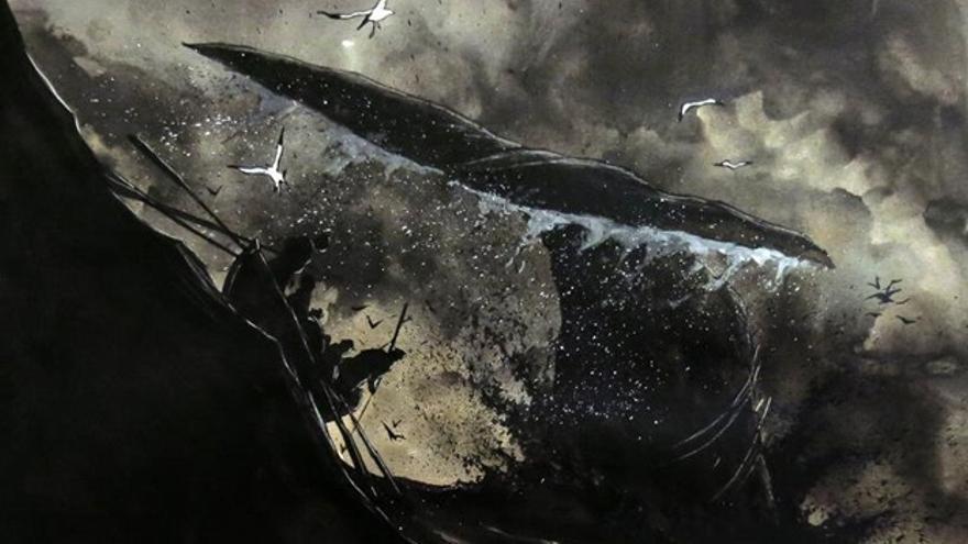 Moby-Dick es una novela del escritor Herman Melville publicada en 1851 que narra la travesía del barco ballenero Pequod.