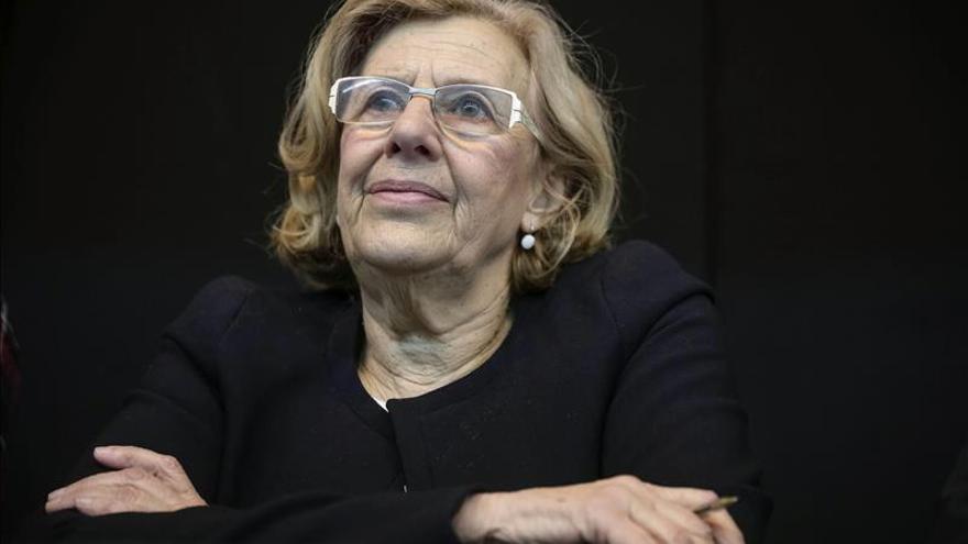 """Manuela Carmena acepta un debate con Aguirre desde el que """"abordar los problemas"""""""