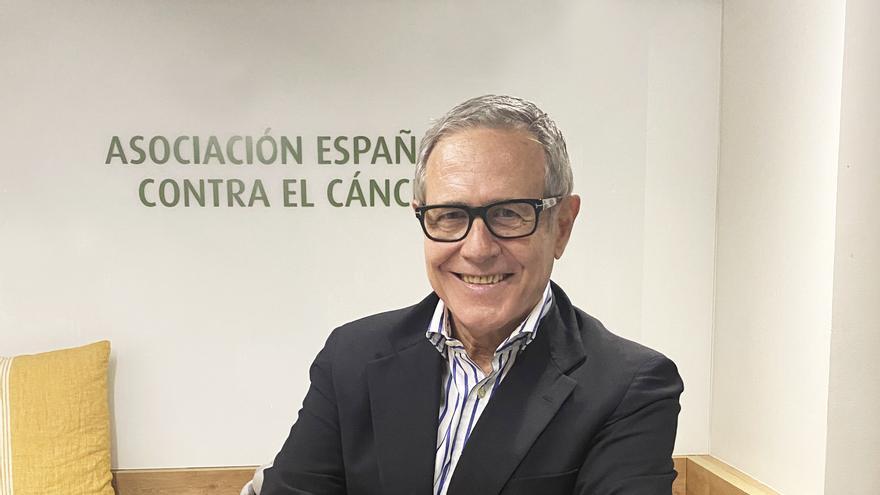 Ramón Reyes, presidente de la Asociación Española Contra el Cáncer (AECC)