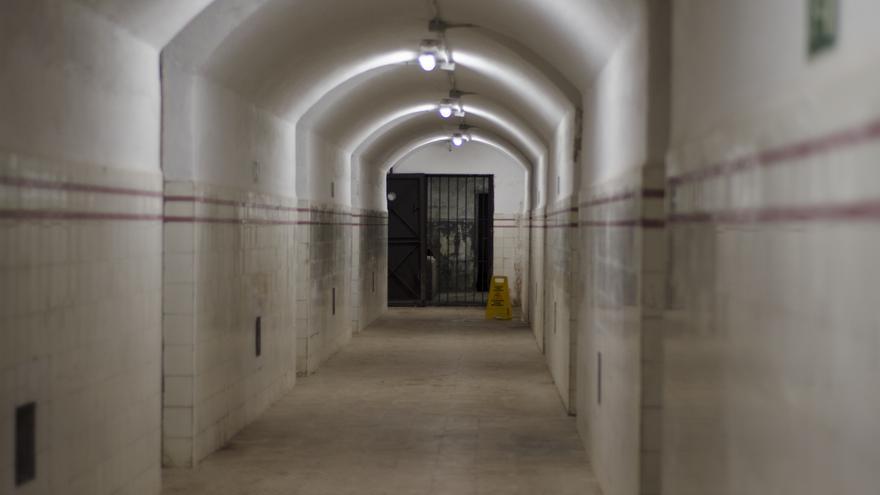 Interior del Búnker de la Posición Jaca