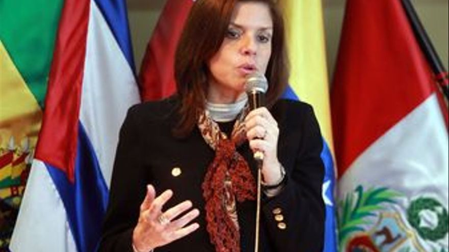 Mercedes Aráoz, ex candidata a la Presidencia de Perú por el gobernante APRA