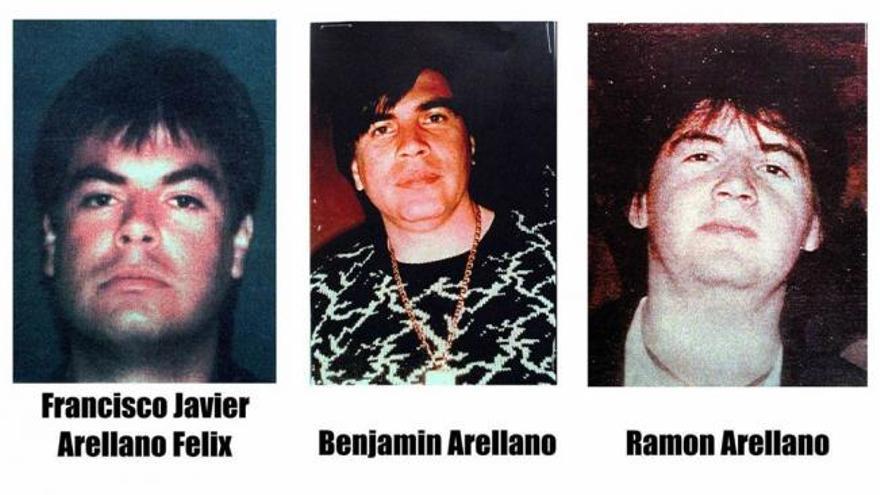 Francisco Javier Arellano Félix, Benjamín Arellano y Ramón Arellano