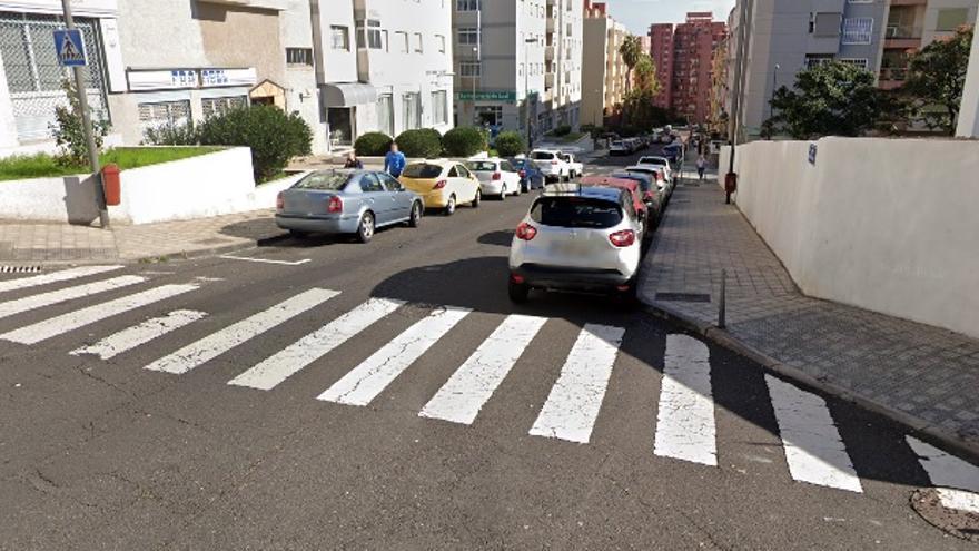 Herida una mujer de avanzada edad tras un atropello en Santa Cruz de Tenerife