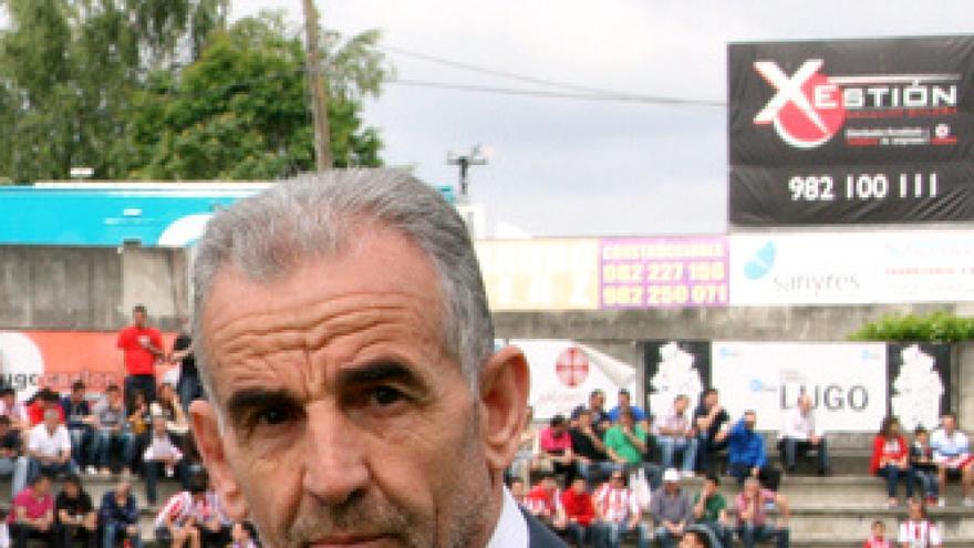 José Bouso, presidente del Club Deportivo Lugo