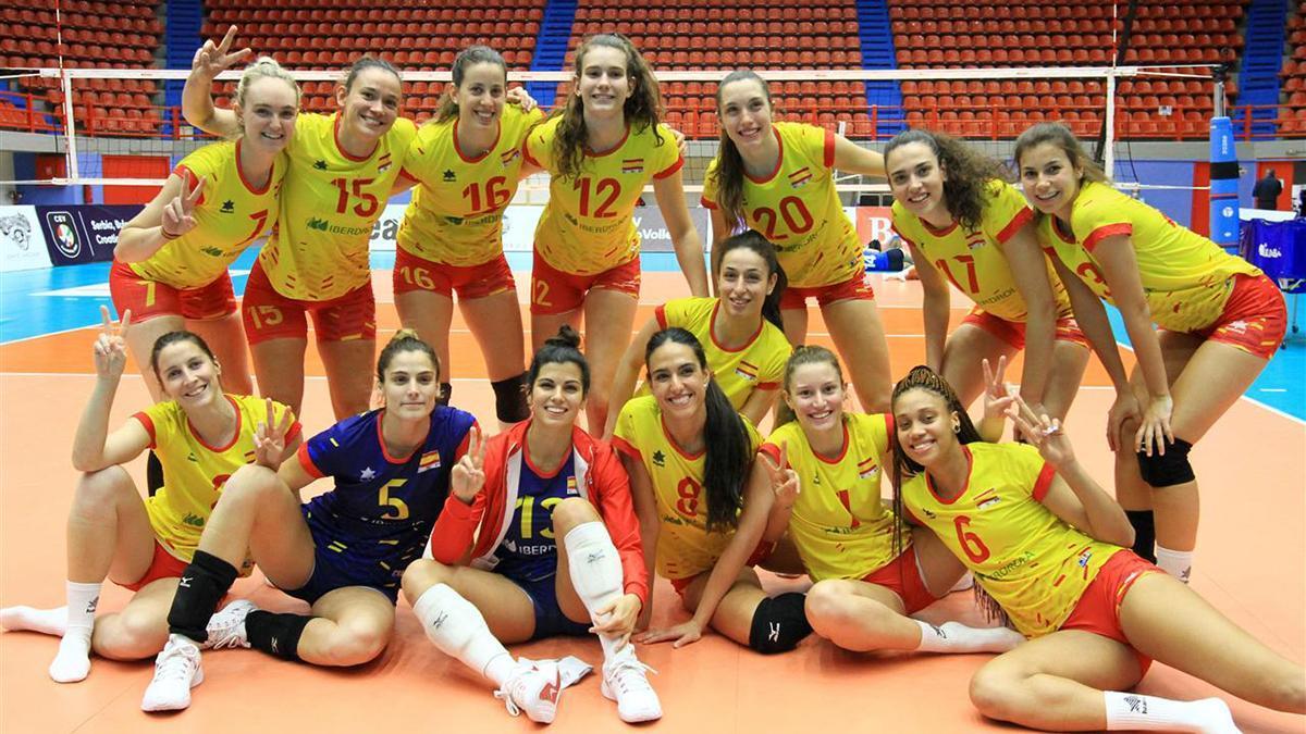 La selección española femenina de voleibol