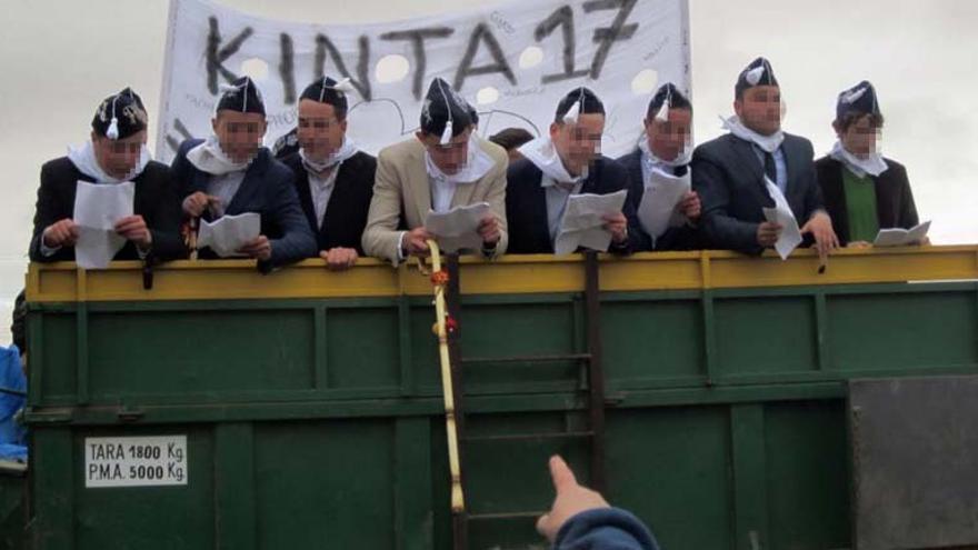 Los 'quintos' de Orgaz / Foto: Facebook Ayuntamiento