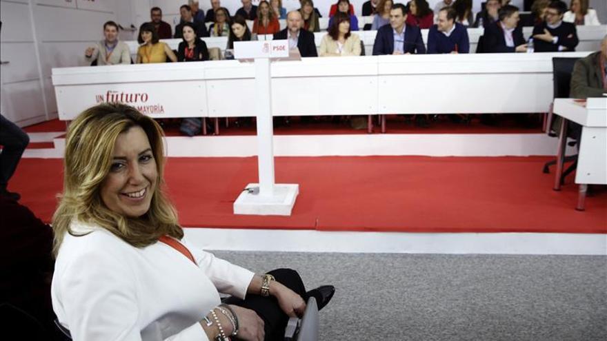 El vicepresidente andaluz niega que Susana Díaz esté preparando el salto a Madrid