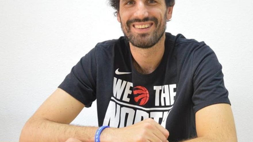 Asier de la Iglesia, jugador de baloncesto en el Ordizia-Basoa