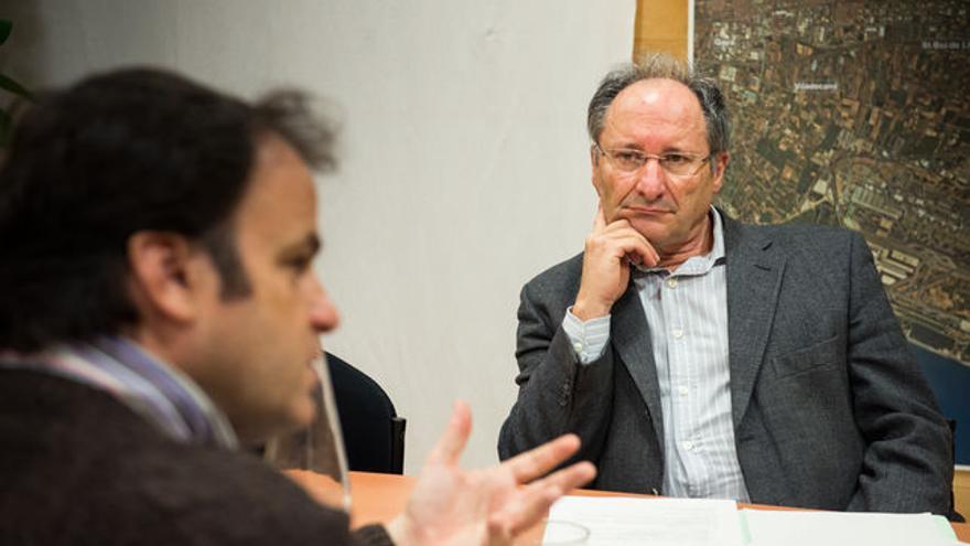 El abogado Joan Llinares (derecha), propuesto para dirigir la Agencia Antifraude