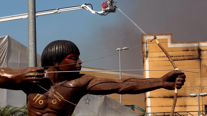 Ordenan el cierre de la Ciudad de la Samba de Río de Janeiro por riesgo de incendios