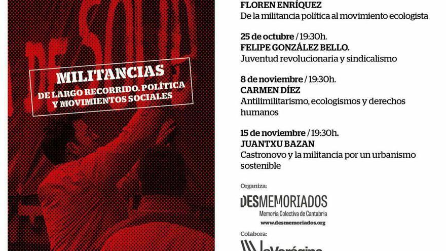 Ciclo de conferencias de 'Militancias'.