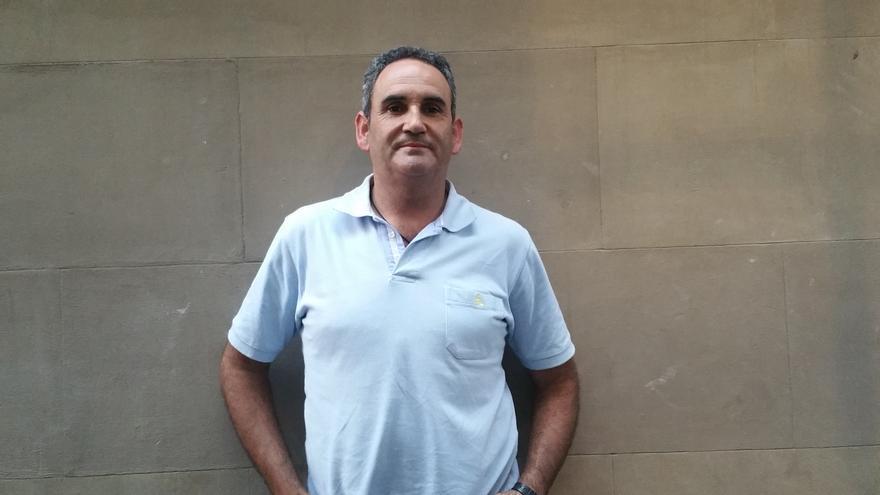 David Montesteoca es celíaco desde hace 18 años. Foto: LUZ RODRÍGUEZ.