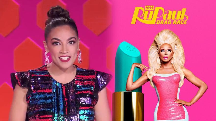 Alexandria Ocasio-Cortez estará en 'RuPaul's Drag Race'
