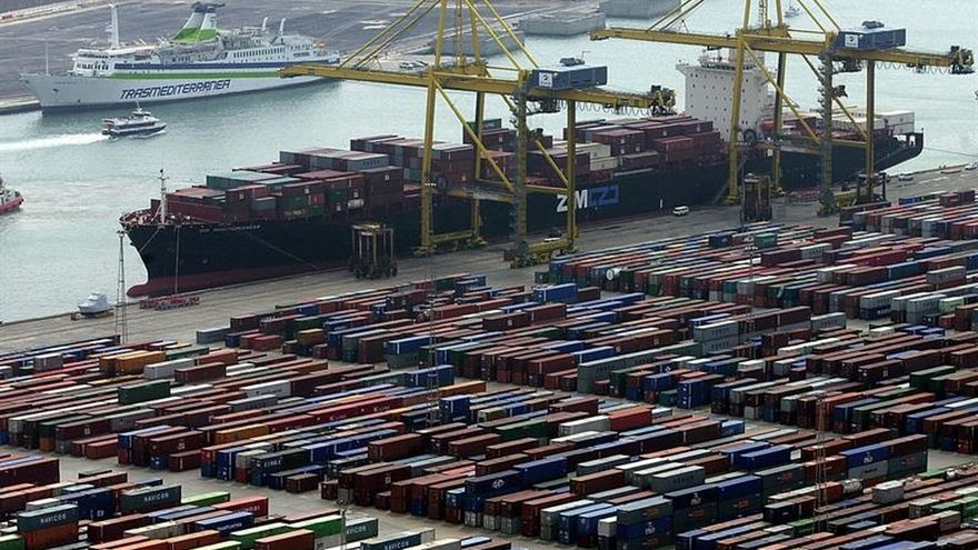 El Puerto de Barcelona gana 19,1 millones hasta junio, un 30 % más