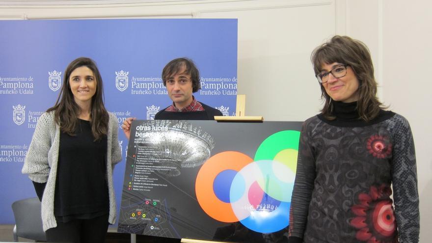 La muestra 'Otras luces' ofrecerá proyecciones de videoarte en siete edificios de Pamplona