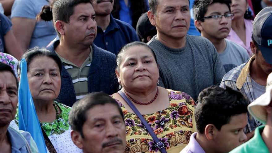 Menchú exige celeridad al Congreso y aprobar el antejuicio contra Pérez Molina